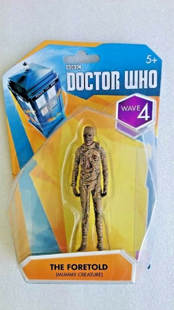 Doctor Who The Foretold Mummy Creature Figure -  New and SEALED